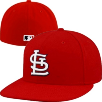 huge selection of 6cbdc 58eec St. Louis Cardinals Red Home New Era Authentic 59FIFTY Fitted Hat