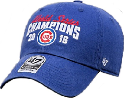Chicago Cubs 2016 World Series Champions Blue  47 Adjustable Hat 8800091d7