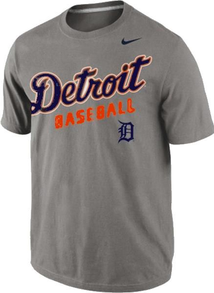 Detroit tigers merchandise accessories t shirts hats gifts for Baseball logos for t shirts