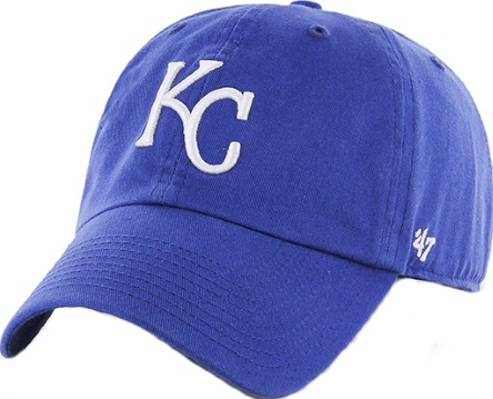 huge selection of 1a476 40d02 Kansas City Royals 47 Brand Royal Clean Up Relaxed Adjustable Hat
