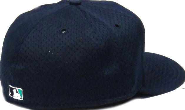 Seattle Mariners Logo 59fifty Mesh Batting Practice Fitted Hat