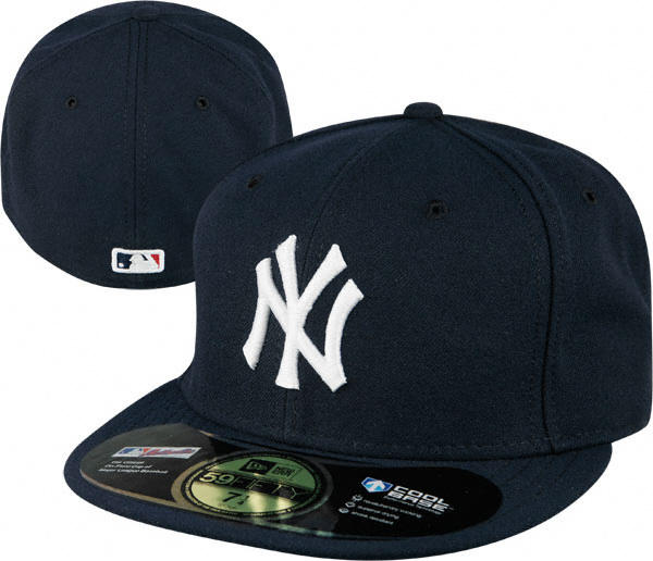 New York Yankees Navy NE Authentic On Field 59Fifty Fitted Hat 747c5f1b1fd