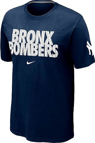 New york yankees navy pinstriped bronx bombers nike local for T shirt printing bronx