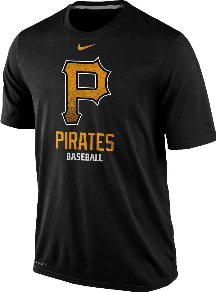 Pittsburgh Pirates Black Nike Logo Legend Mlb T Shirt W