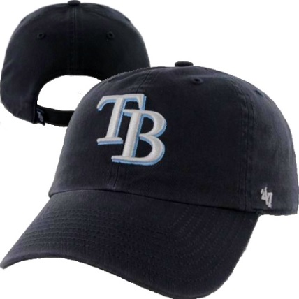 bay rays navy home brand clean up relaxed adjustable hat tampa uk baseball caps cap