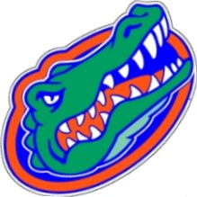 Florida Gators Die Cut Large Uf Gator Head Logo Vinyl