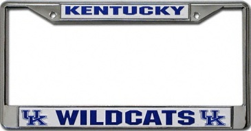 Kentucky Wildcats Blue Uk Logos U Of K Chrome License
