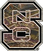 Nc State Wolfpack Die Cut Camo Block S Logo Ncsu Decal 4 Quot