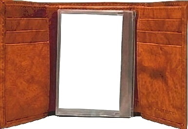 Rico Industries NCAA Mississippi Ole Miss Rebels Nylon Trifold Wallet