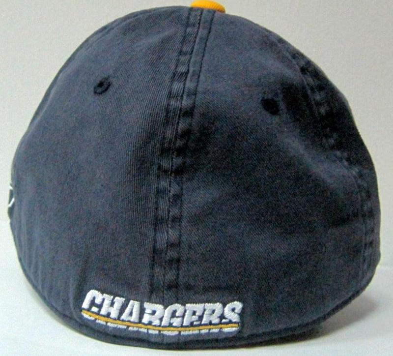 San Diego Chargers Navy Basic Logo Slouch Flexfit Reebok Hat