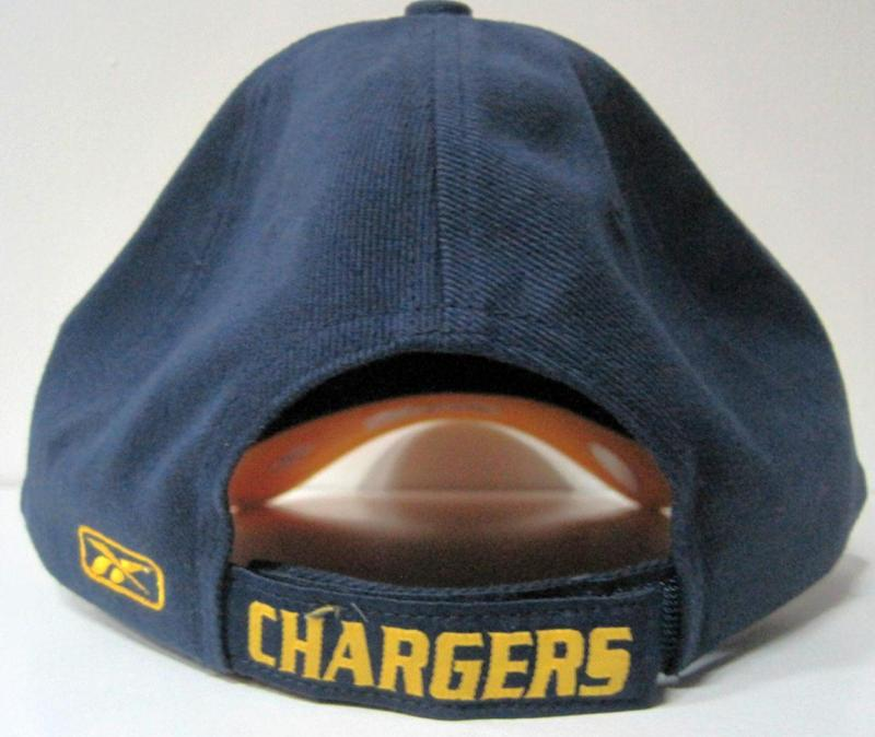 San Diego Chargers Navy Multi Team Color Structured Reebok Hat