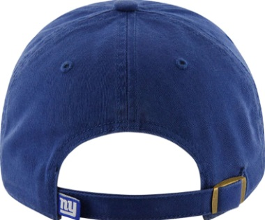 New York Giants NY Royal Blue  47 Cleanup Relaxed Adjustable Hat 09cbcab1d