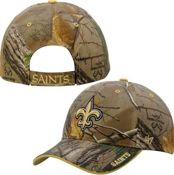 New Orleans Saints 47 Brand Frost Realtree Camo